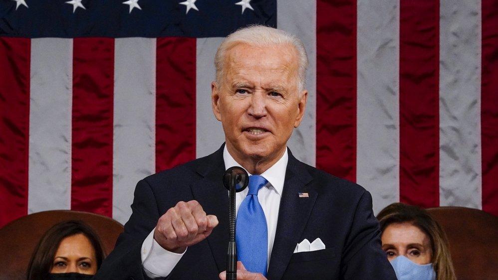 Joe Biden a adressé un discours au Congrès après 100 jours de présidence le 28 avril.