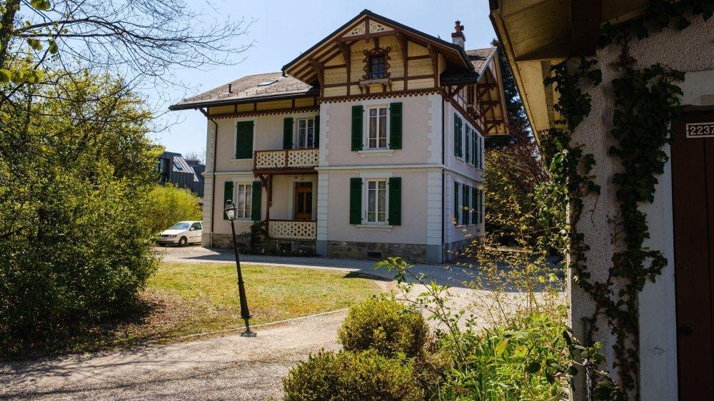Au numéro 32 de la route de Saint-Cergue à Nyon, cette villa pourrait céder sa place à un immeuble de seize appartements.