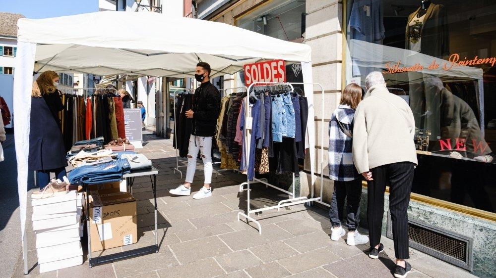 Comme cela a été le cas ce samedi, les commerçants nyonnais pourraient être amenés à être plus présents dans le futur visage du marché hebdomadaire.