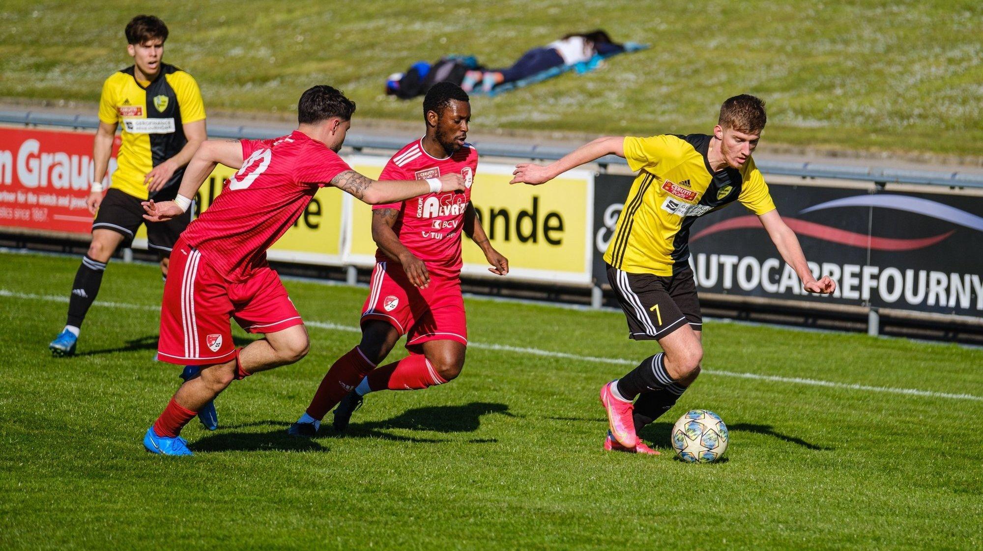 Face à Vevey, Idriz Bega, a inscrit l'unique but de la rencontre.