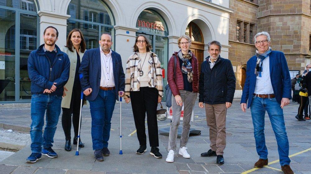 La future Municipalité sera composée de David Guarna, Laetitia Bettex, Vincent Jaques, Laure Jaton, Mélanie Wyss, Laurent Pellegrino et Jean-Jacques Aubert.