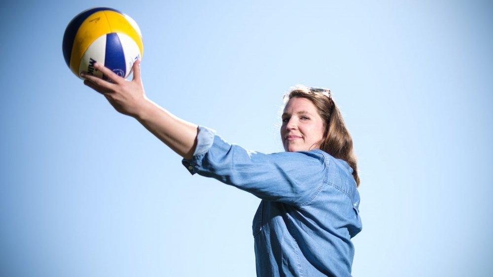 La saison prochaine, la Nyonnaise et ses 181 cm goûteront au volley professionnel au sein du Sm'Aesch Pfeffingen.