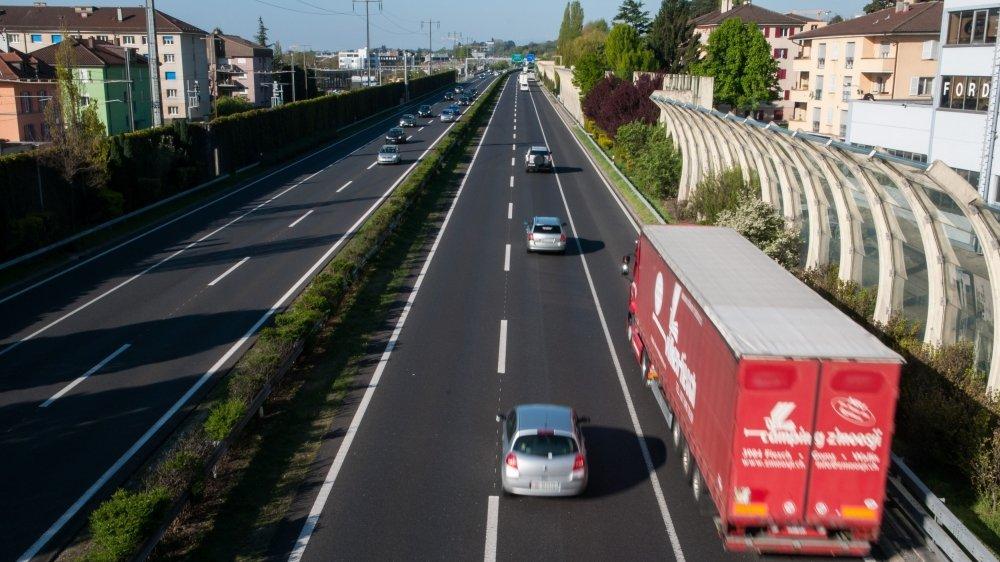 La centrale de gestion du trafic pourrait mieux appréhender la problématique de la surcharge sur l'autoroute, par exemple.