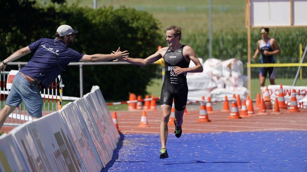 En 2019, lors du dernier triathlon de Nyon, c'est le Veveysan Adrien Briffod qui s'était imposé chez les élites.