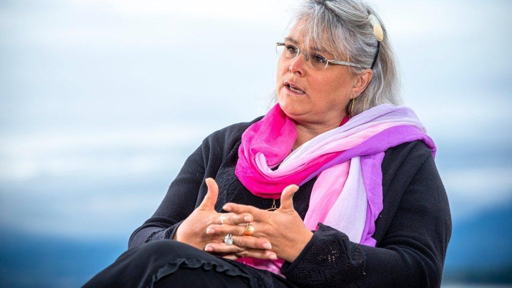 Chantal Landeiro, syndique de Le Vaud, est candidate à sa propre succession.