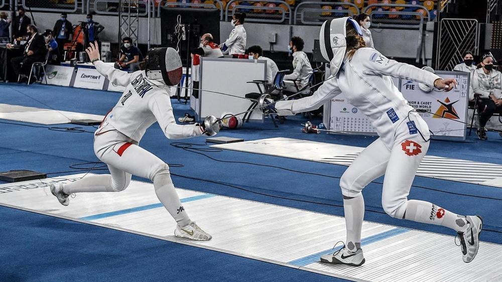 Alyssa Pasche a remporté sept de ses huit combats en individuel.