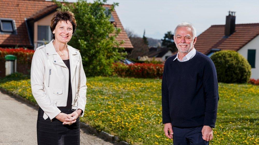 Christine Girod est entrée à la Municipalité en 2011. Gérald Cretegny, lui, a accédé à l'exécutif en 1998. Il est syndic depuis 2006.
