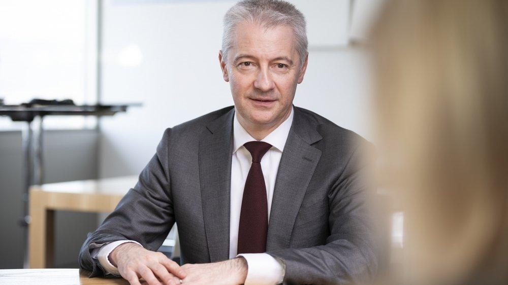 Fabrice Zumbrunnen, directeur général de Migros.