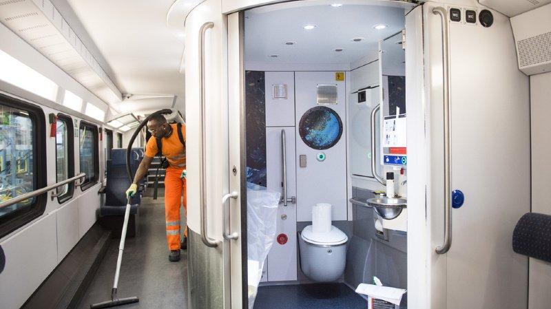 Transport ferroviaire: les CFF biffent 130 à 150 emplois temporaires