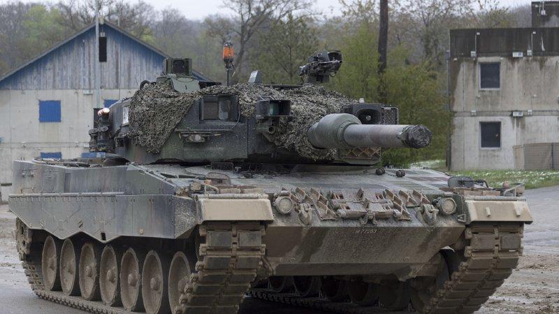 Quatre soldats ont été trouvés inconscients dans un char. (illustration)