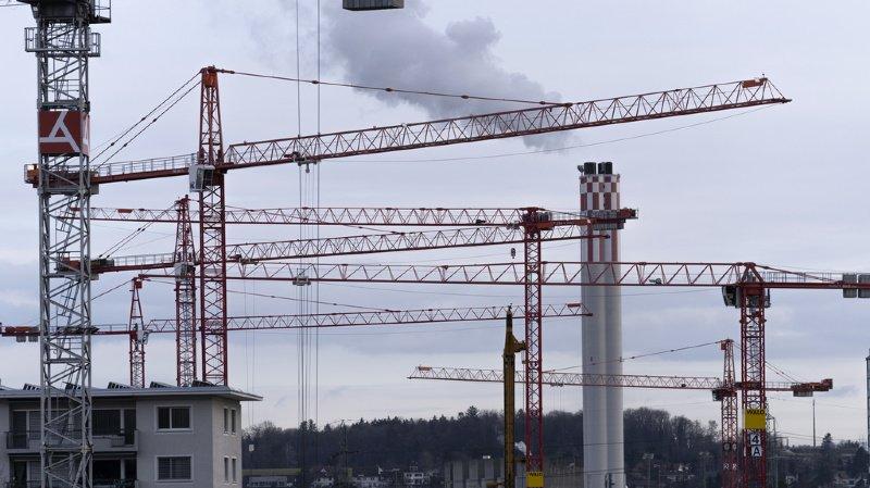 L'exploitation et la construction de bâtiments représentent aujourd'hui 16% de l'empreinte de la Suisse, ce qui équivaut à 45% de la biocapacité mondiale par habitant.