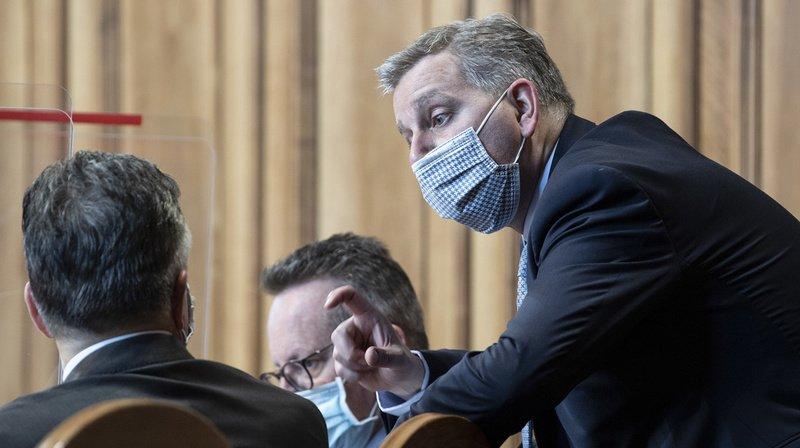 Coronavirus: «plus qu'un seul siège si vous refusez des assouplissements», dit l'UDC au PLR