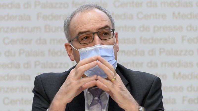 Coronavirus: Guy Parmelin tempère les espoirs de nouvelles ouvertures rapides