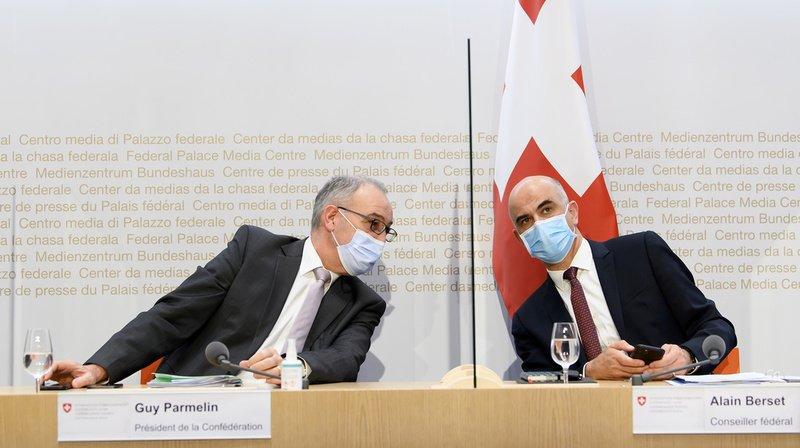 Coronavirus et violences: des jeunesses de parti interpellent le Conseil fédéral