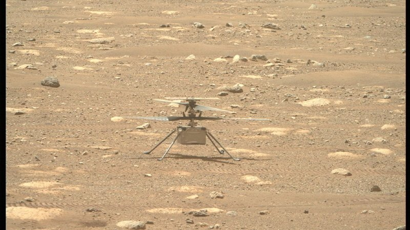Espace: vol historique sur Mars du mini-hélicoptère Ingenuity retardé