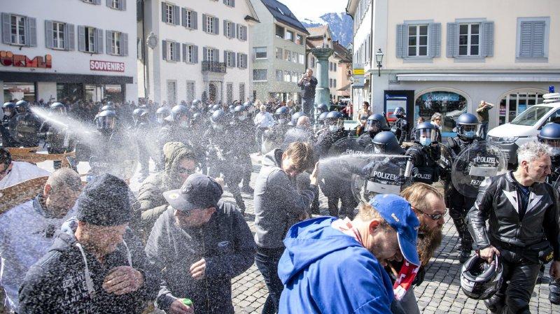 Coronavirus: la police disperse un rassemblement anti-Covid non autorisé à Altdorf
