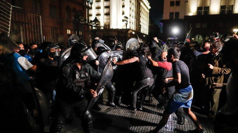 Coronavirus: manifestations à Buenos Aires contre les restrictions