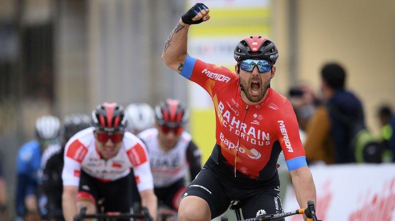 Cyclisme – Tour de Romandie: l'Italien Sonny Colbrelli remporte la 2e étape, Marc Hirschi 3e
