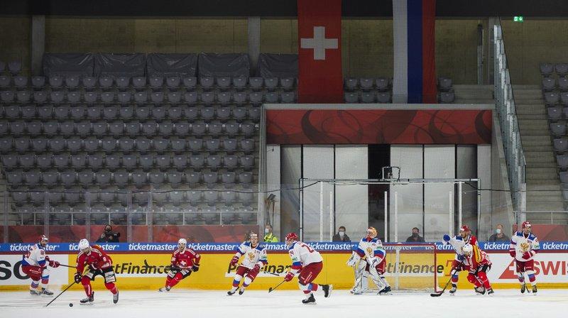 Hockey: la Suisse s'impose 3-1 face à la Russie en match amical