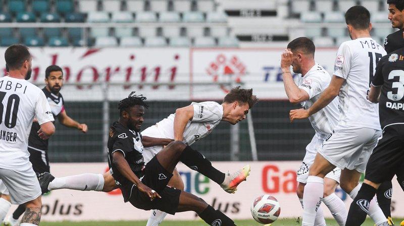 Football – Super League: Vaduz se donne de l'air et complique la tâche de Sion