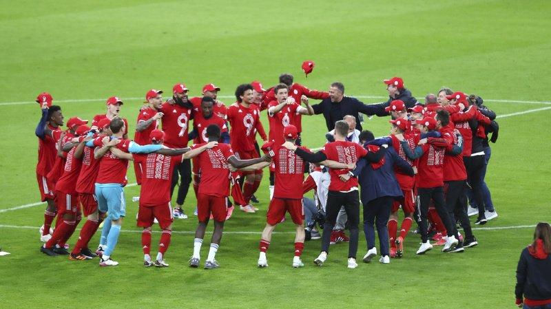 Football: le Bayern Munich champion d'Allemagne pour la 9e fois consécutive
