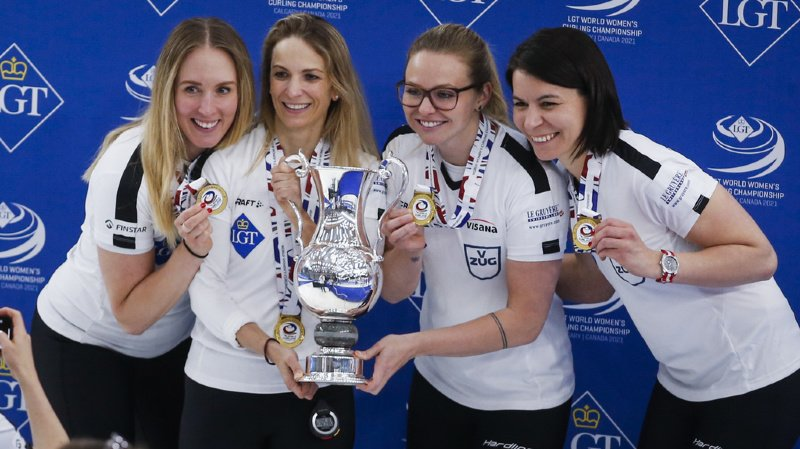Curling: les Suissesses en or au Mondial à Calgary