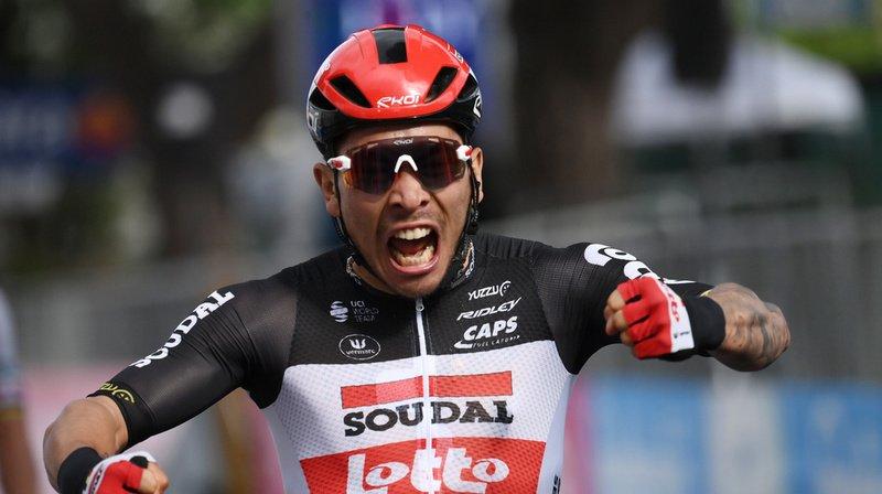 Cyclisme - Giro: Caleb Ewan remporte au sprint la 8e étape