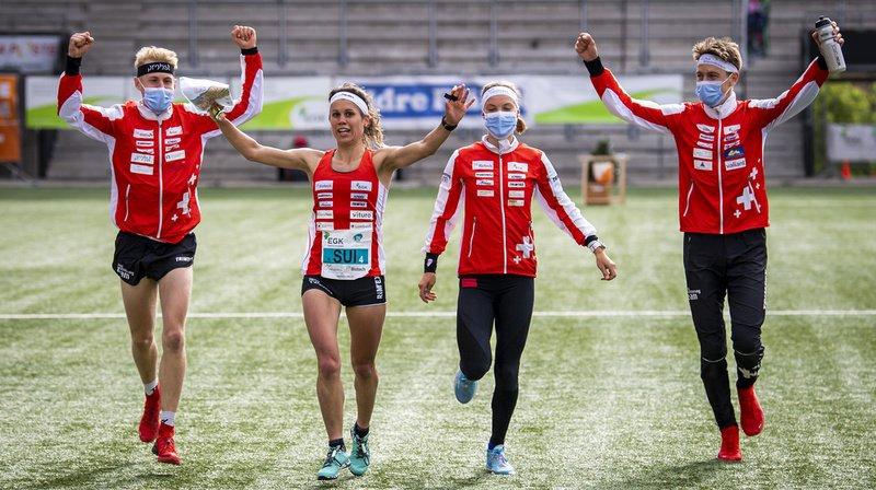 Course d'orientation – championnats d'Europe de sprint à Neuchâtel: le relais mixte suisse se pare d'or