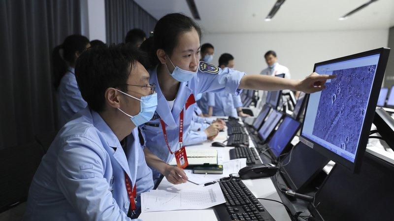 Espace: la Chine réussit seule à poser un petit robot sur Mars
