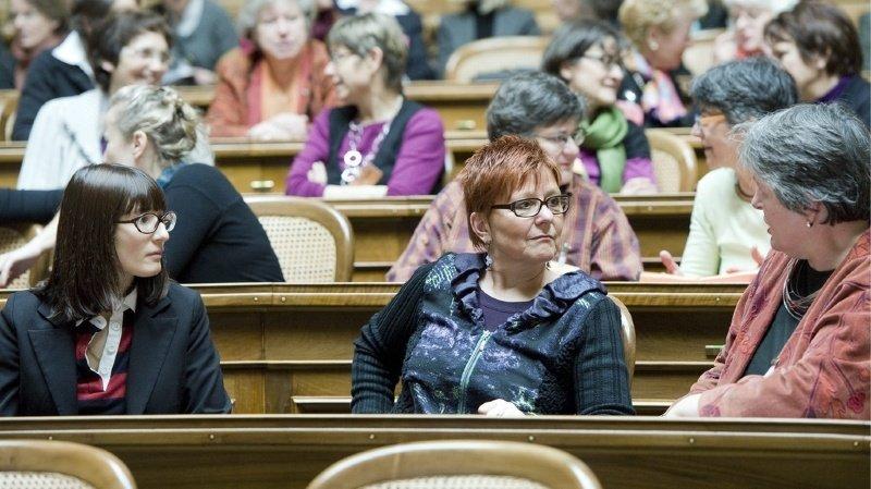 Depuis mardi, les femmes de toute la Suisse peuvent soit s'inscrire en tant que candidates, soit en tant qu'électrices. (archives)