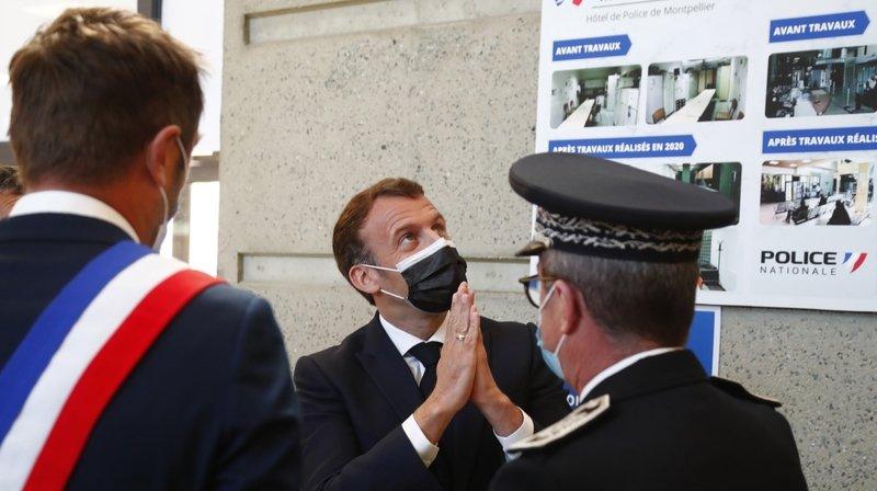 France: la campagne présidentielle d'Emmanuel Macron sera sécuritaire