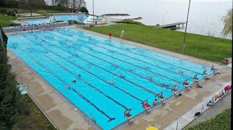 Nyon: pas totalement guérie, la piscine de Colovray rouvre malgré tout