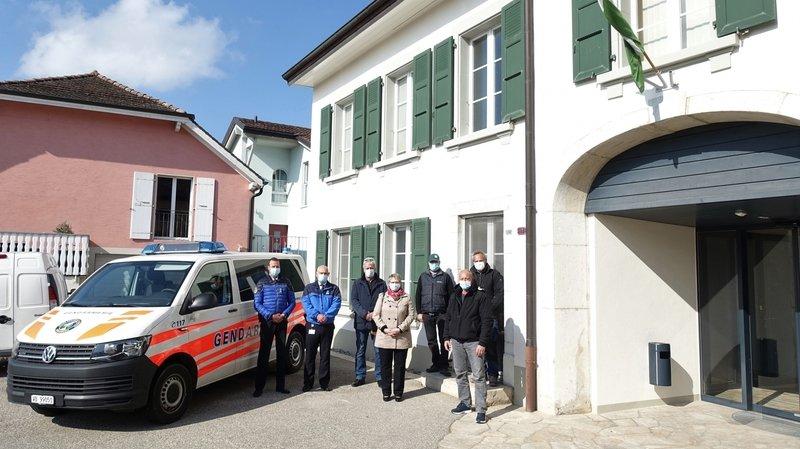 La gendarmerie vaudoise ouvre une nouvelle antenne à Apples