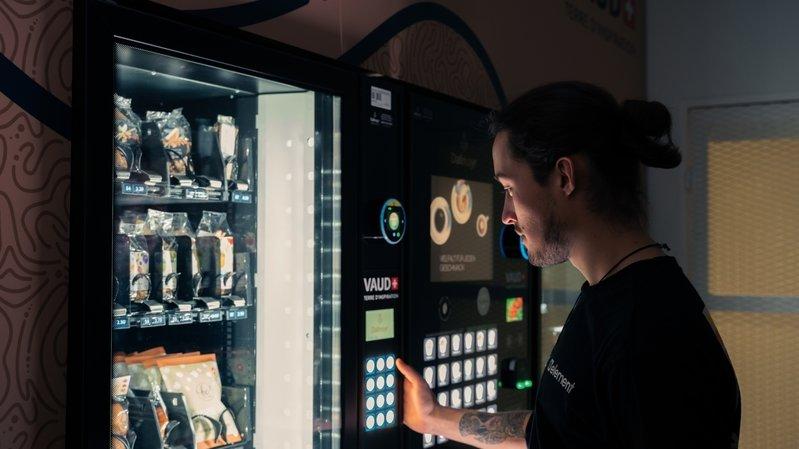 Dans les distributeurs Vaud+ les popcorns lausannois remplacent les Mars, par exemple.