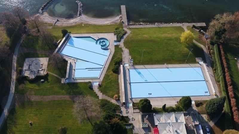 Nyon: à peine ouverte, la piscine de Colovray doit fermer