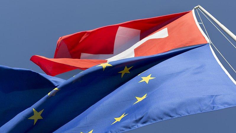 Suisse-UE: près de 2 Suisses sur 3 soutiendraient un accord-cadre