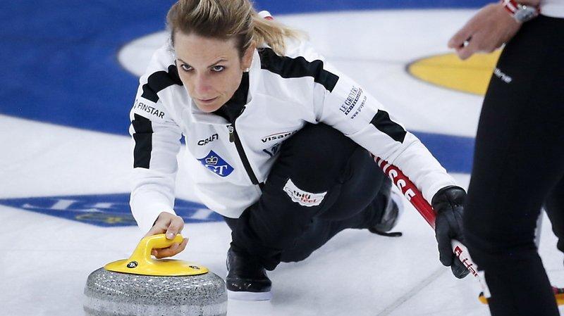 Mondial de curling à Calgary: 9e succès en 10 matches pour la Suisse