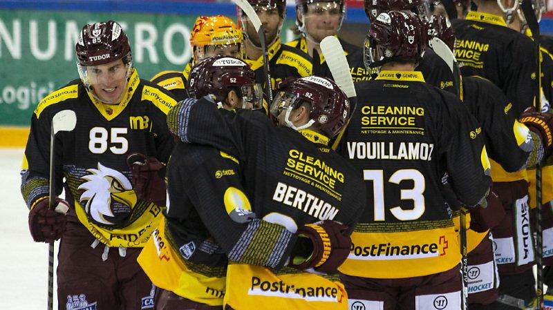 Genève-Servette se qualifie directement pour les play-offs.