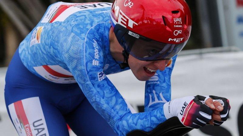 Cyclisme: Pogacar remporte Liège-Bastogne-Liège, Hirschi 6e