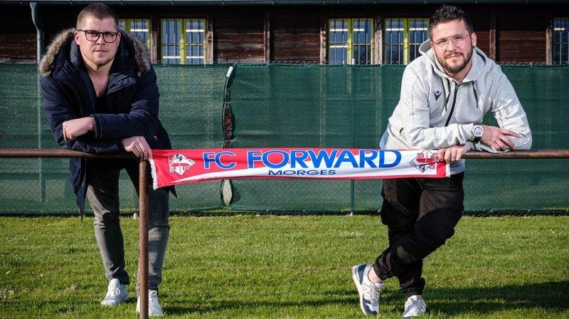 Deux enfants du club reprennent le FC Forward Morges