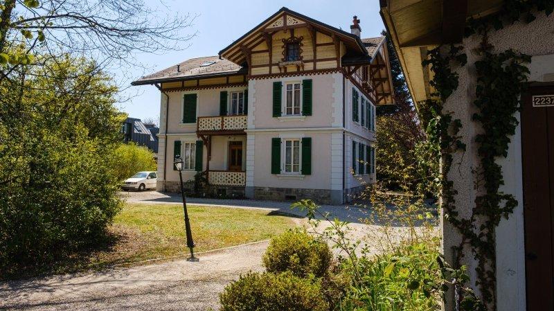 Nyon: émoi populaire pour les deux villas rescapées de la route de Saint-Cergue