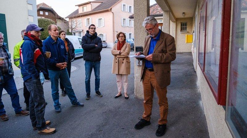 Ce n'est que peu avant 20h, que le président du Conseil Reto Dorta est sorti du bastion que constituait le bureau électoral pour présenter les résultats attendus d'une élection tendue.