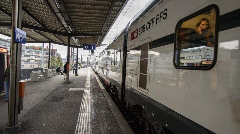 Accident en gare de Nyon: le trafic ferroviaire a repris