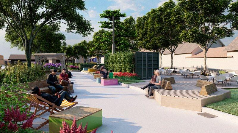 Nyon: jardins et transats sont de retour à Perdtemps