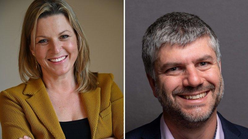 A Givrins, Regula Zellweger et Scott Adams argumentent en visant la syndicature