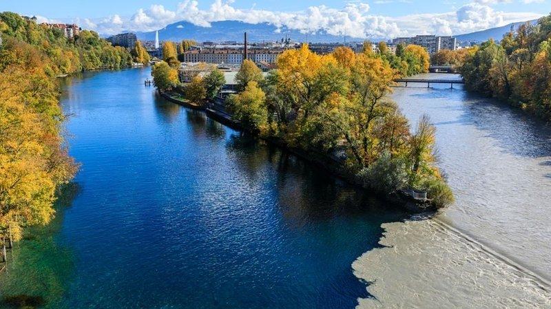 Genève: opération d'envergure pour évacuer les sédiments dans le Rhône