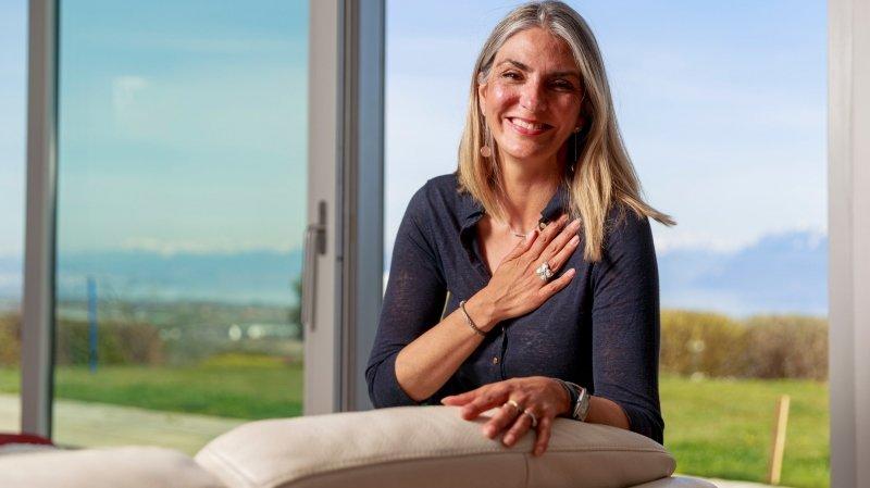 Féchy: Annie Hochstadter raconte la greffe de rein qui l'a transformée