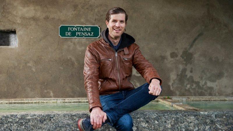Le Vaud: l'enfant du village, Sylvain Pécoud élu syndic