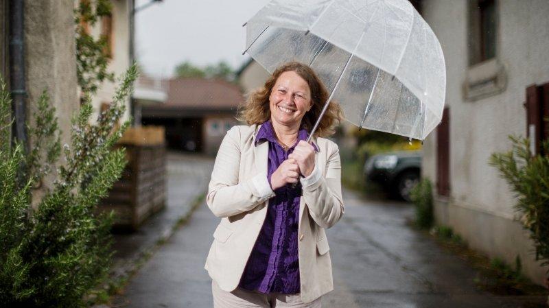 Laurence Cretegny, la future présidente du Grand Conseil a appris à danser sous la pluie