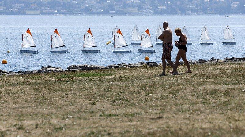 Genève veut réaménager la plage du Vengeron